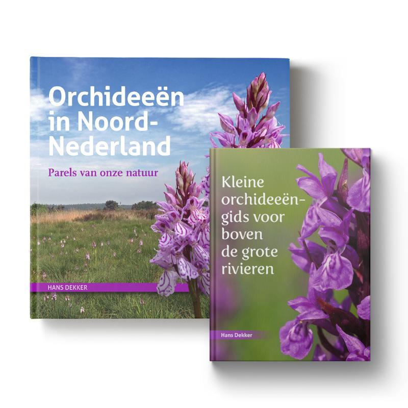 Set: Orchideeën in Noord-Nederland + Kleine orchideeëngids