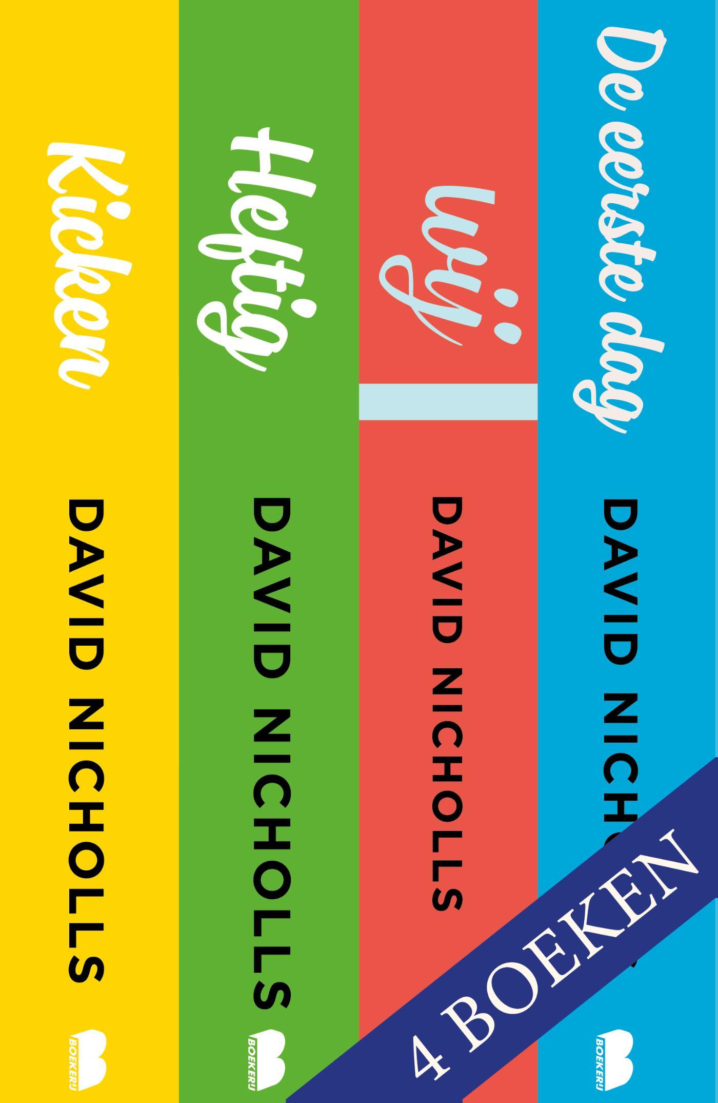 David Nicholls 4-in-1 bundel (Ebook)