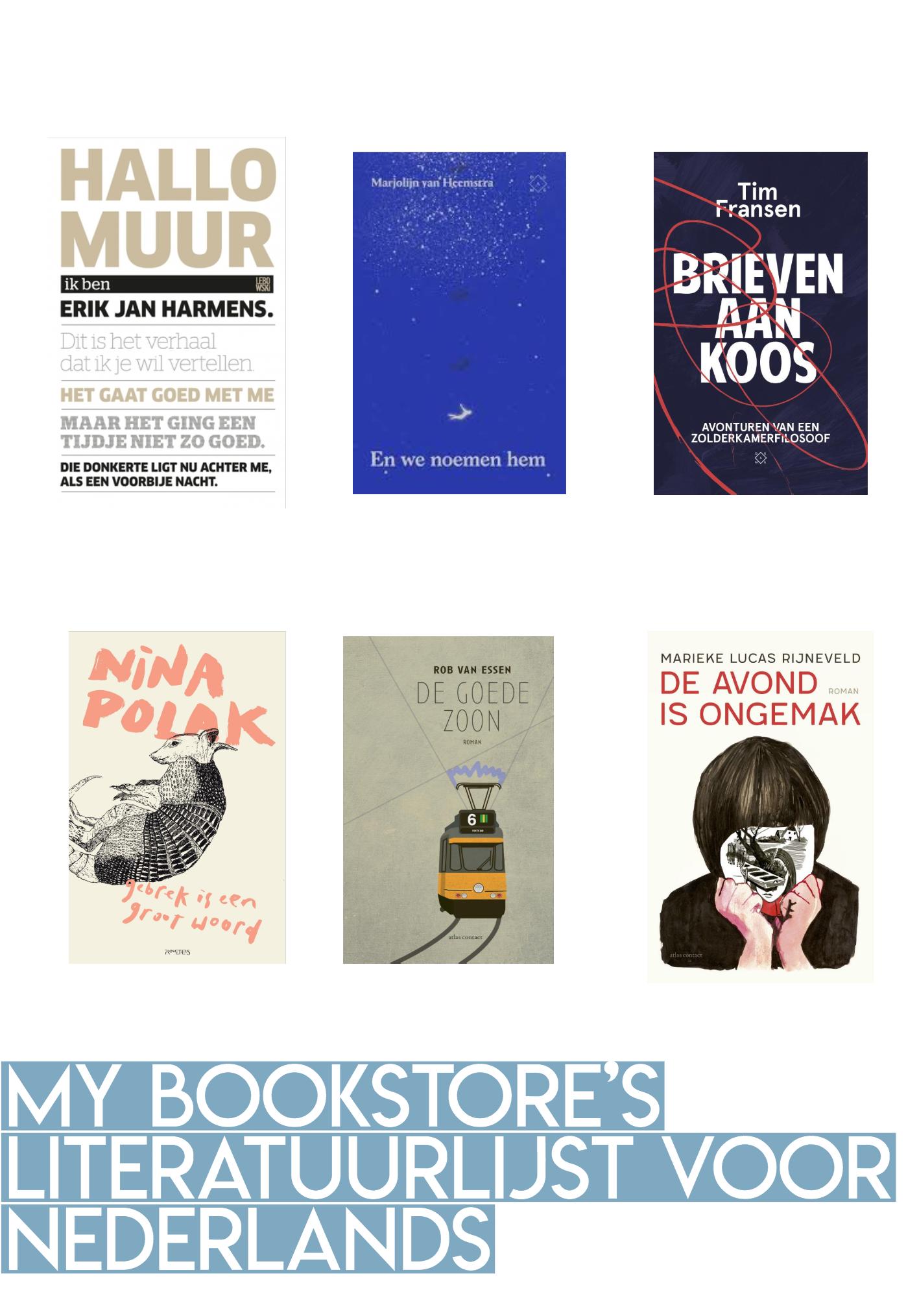 My Bookstore's literatuurlijst voor Nederlands