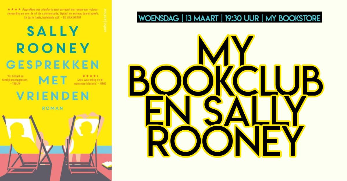 My Bookclub: Gesprekken met vrienden van Sally Rooney