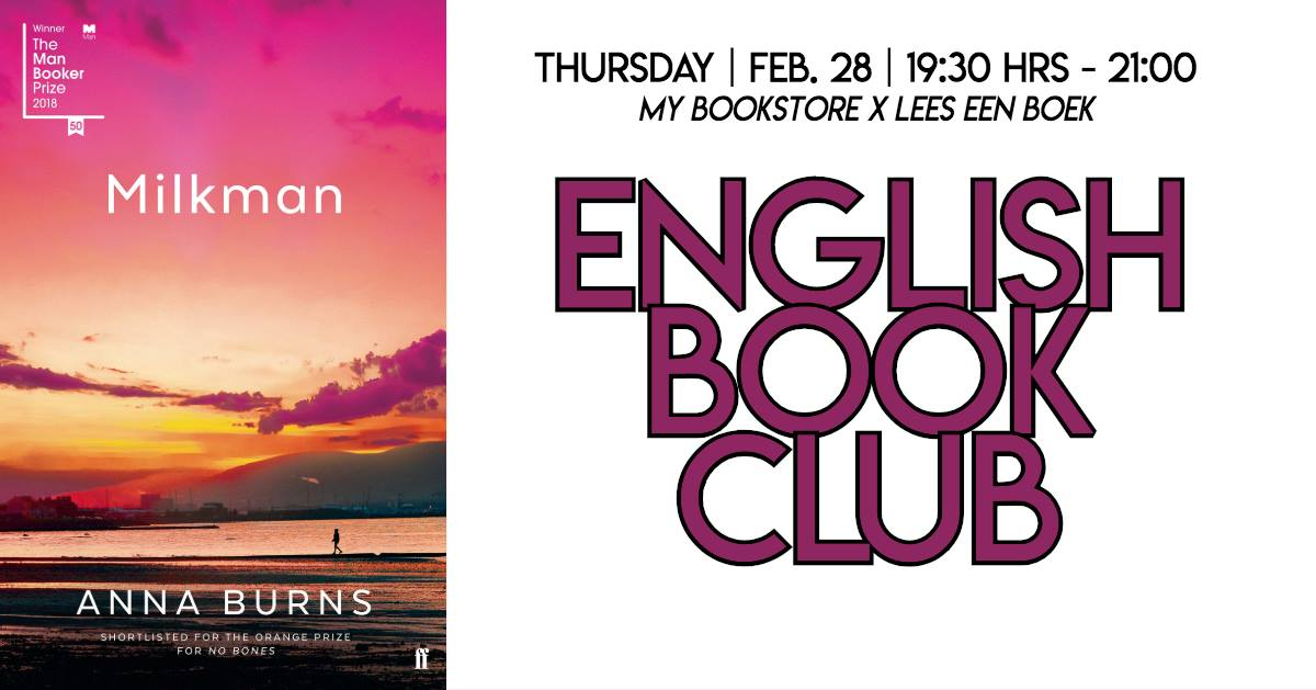 My Bookstore X Lees een Boek's English Book Club #2