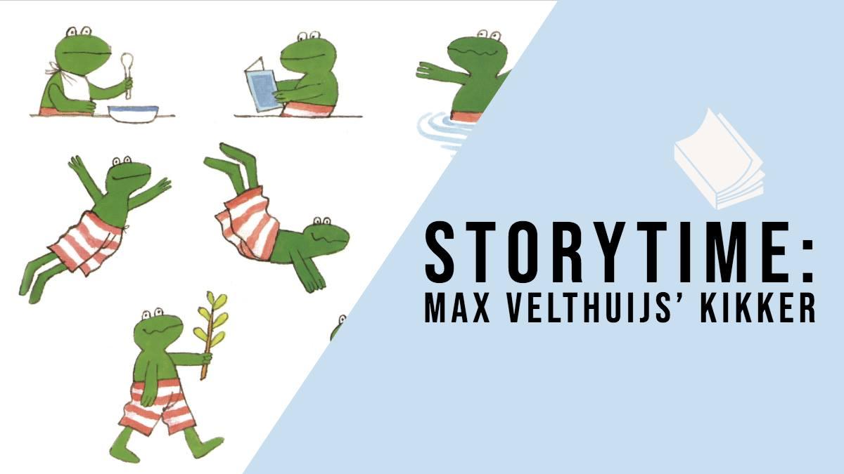 Storytime: Max Velthuijs' Kikker