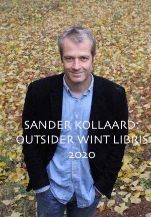 Sander Kollaard wint Libris Literatuurprijs met